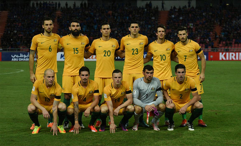 Австралийская футбольная команда