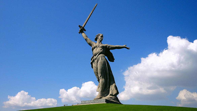 Мамаев Курган и скульптура «Родина-мать»