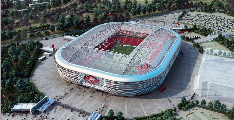 Стадион «Спартак» (вид сверху)