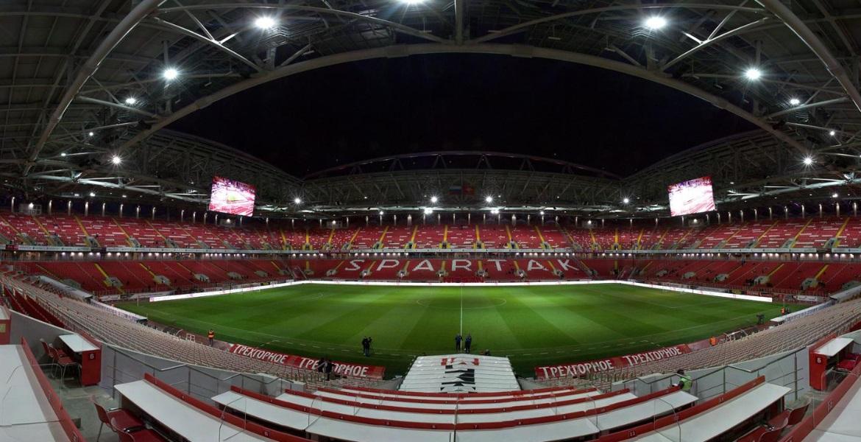 Стадион «Спартак» (поле и трибуны)