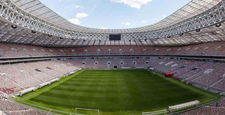 Стадион «Лужники» (поле и трибуны)