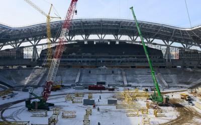 Рубин Арена Парк - Строительство