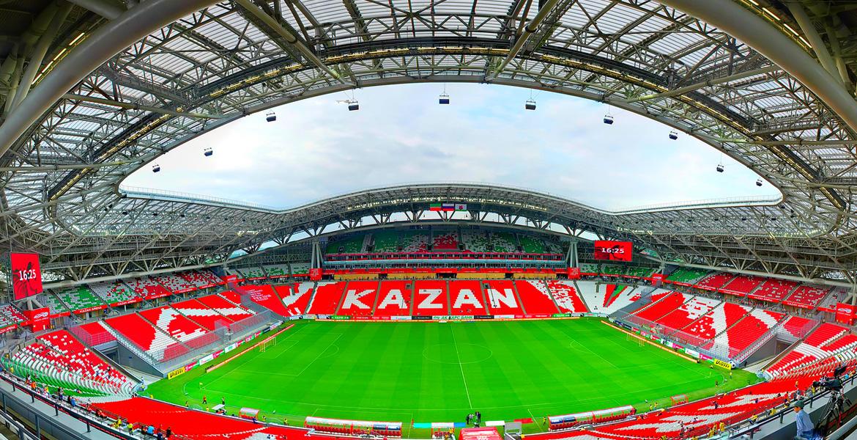 Стадион «Казань Арена» трибуны