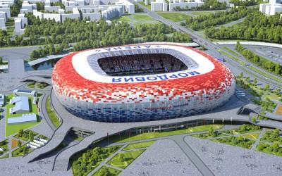 Стадион Саранск (Юбилейный) -вид сверху