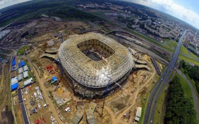 Стадион Саранск (Юбилейный) - строительство