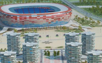 Стадион Саранск (Юбилейный) - макет