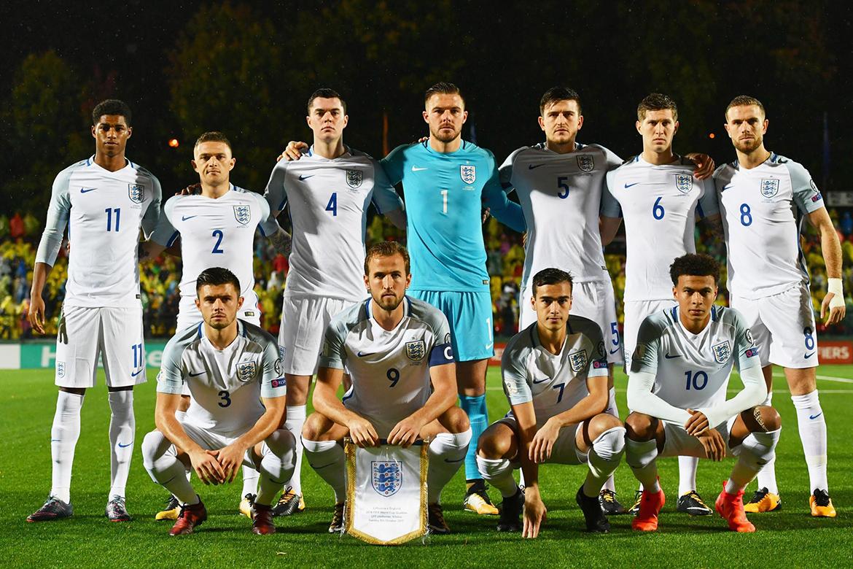 Состав сборной Англии по футболу