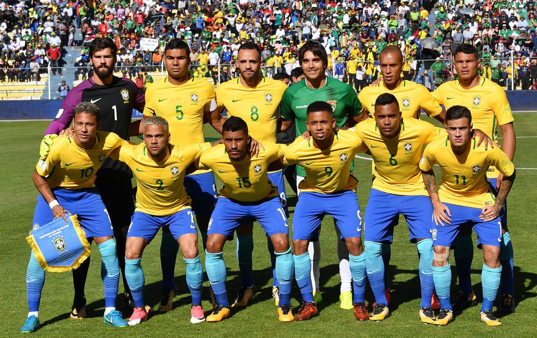 Футболисты олимпийской сборной Бразилии