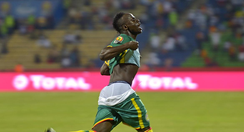 Нападающий сборной Англии Ливерпуль и сборной Сенегала - Садджо Мане