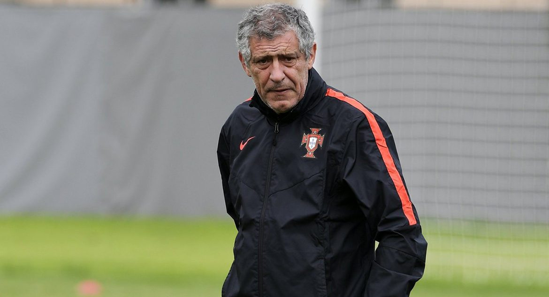 Главный тренер сборной Португалии - Фернандо Сантос