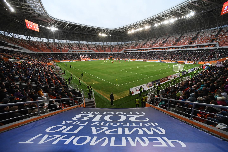 Первый матч на стадионе «Мордовия Арена»