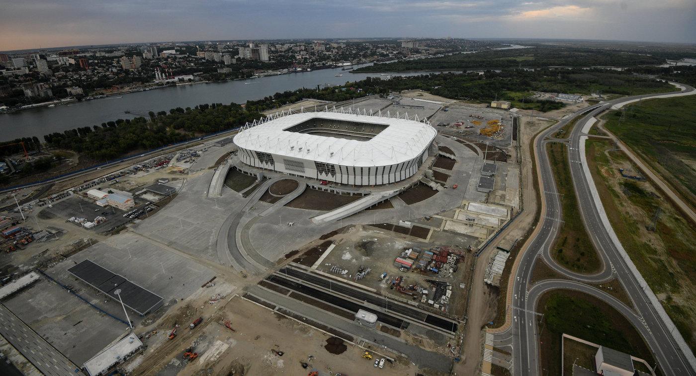 «Ростов-Арена» вид издалека