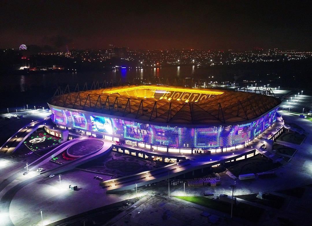 «Ростов-Арена» замечательный ночной вид