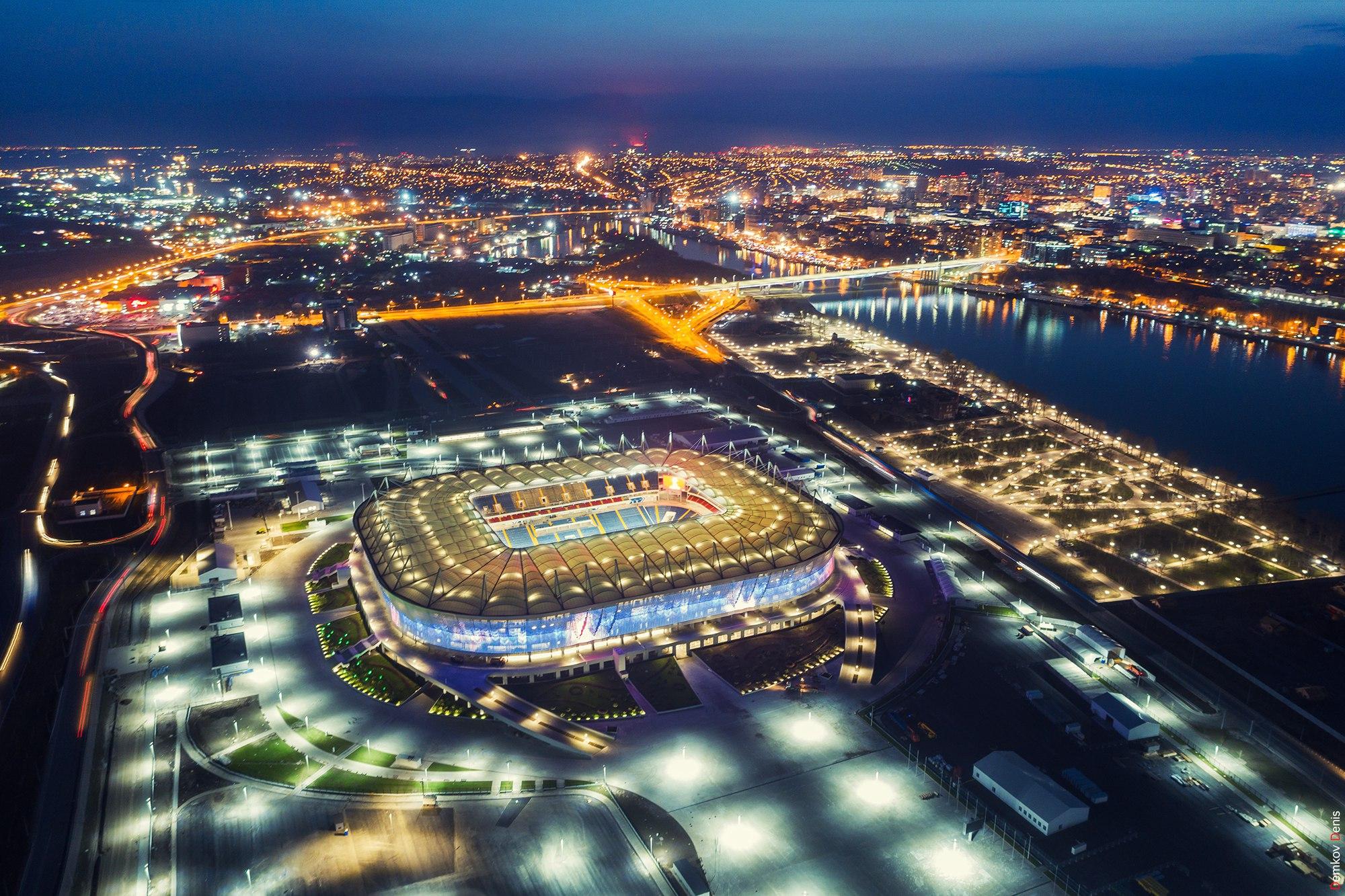 «Ростов-Арена» ночной вид