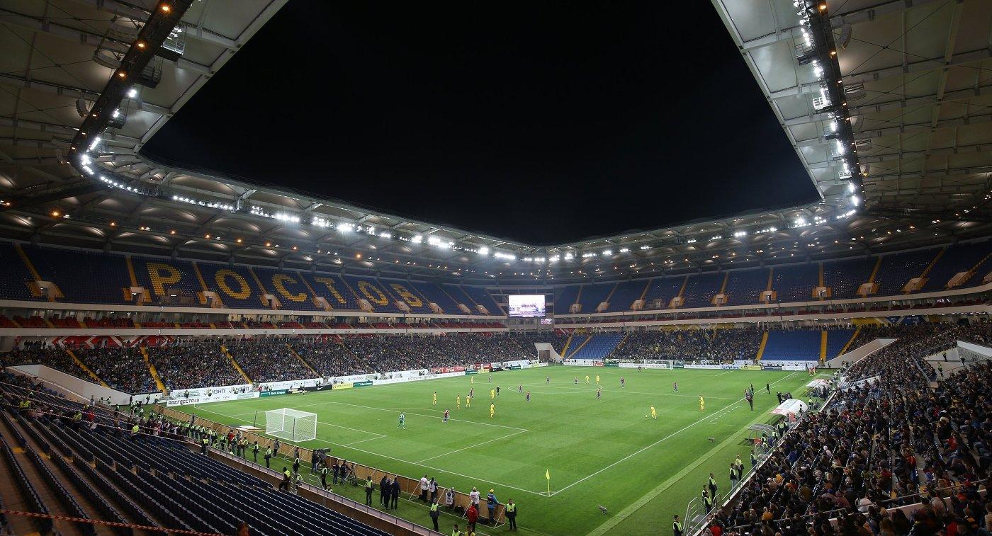 «Ростов-Арена» поле и трибуны