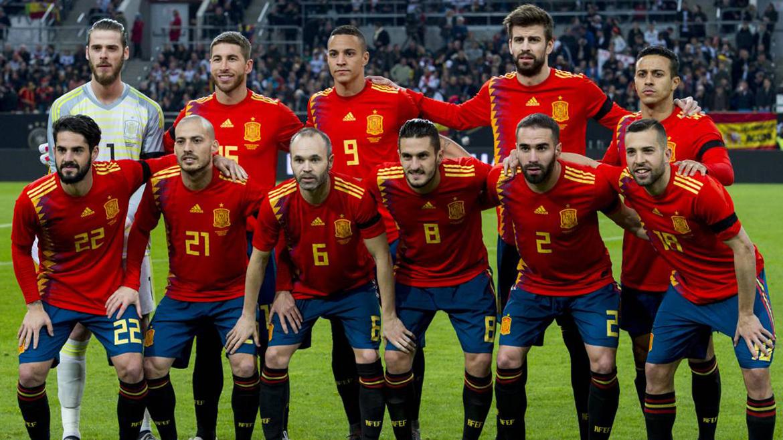 Команда Испания