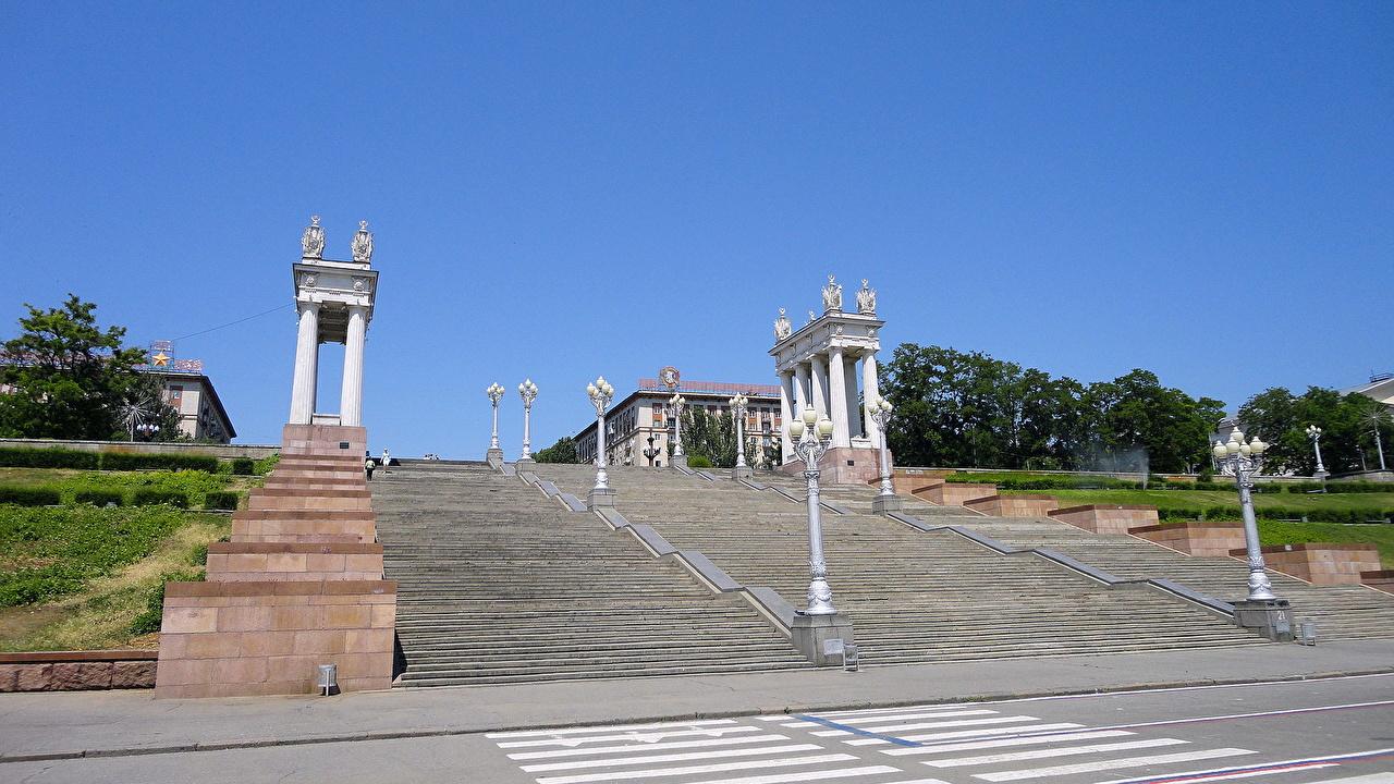 Центральная набережная Волгограда